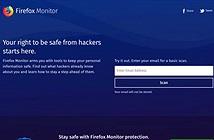 Firefox Monitor: Dịch vụ cảnh báo an toàn thông tin của Mozilla