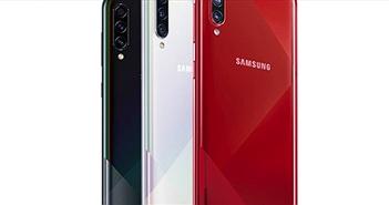 Galaxy A70s ra mắt với camera 64 MP, pin 4.500 mAh, thiết kế mới