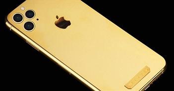 Xuất hiện iPhone 11 Pro dát vàng 18K cho các tay chơi