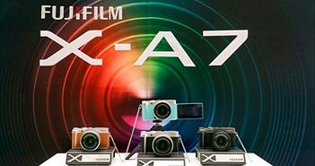 Fujifilm ra mắt X-A7 mang nhiều cải tiến, có quay 4K, thiết kế gọn nhẹ, chất lượng ảnh vượt trội