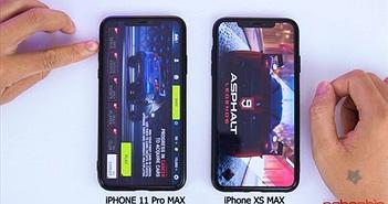 So kè hiệu năng iPhone 11 Pro Max với iPhone XS Max: Apple A13 Bionic chưa phát huy