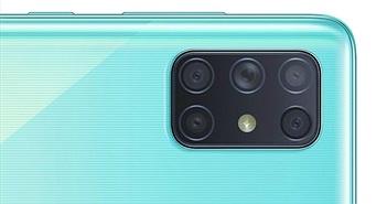 Galaxy A72 sẽ là smartphone đầu tiên của Samsung sở hữu 5 camera