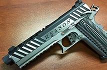 Cận cảnh súng kim loại in từ máy 3D