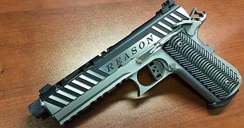 """Cận cảnh súng kim loại """"in"""" từ máy 3D"""
