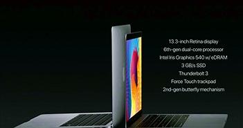 """Apple ra mắt MacBook Pro 2016 với thiết kế mới cùng Touch Bar """"siêu năng lực"""""""