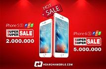 iPhone 6s chính hãng giảm tới 5 triệu đón iPhone 7 lên kệ.