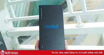 Galaxy Note 8 Hàn Quốc rẻ hơn máy chính hãng 6 triệu