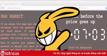Phòng nguy cơ mã độc Bad Rabbit tấn công, người dùng nên sao lưu dữ liệu thường xuyên