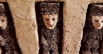 Phát hiện 19 bức tượng cổ bí ẩn ở thành phố đất sét
