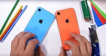 iPhone XR có khung viền chắc chắn, kính camera không bền như quảng cáo