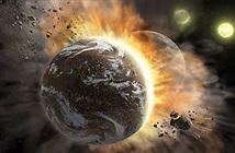2 bản sao Trái đất đâm sầm vào nhau, bắn mảnh vỡ khắp không gian