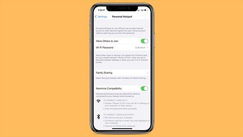 iPhone 12 chia sẻ điểm phát sóng di động nhanh hơn với băng tần 5GHz