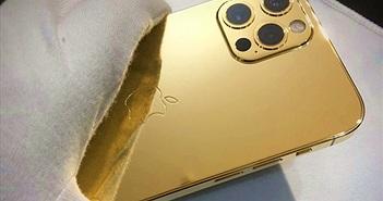 Ngắm iPhone 12 mạ vàng đầu tiên trên thế giới do công ty Việt Nam thực hiện