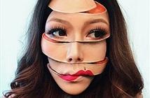 Những bức ảnh selfie ảo giác tạo ra từ make-up này chắc chắn sẽ khiến bạn phải hoa mắt
