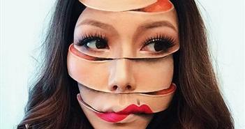 """Những bức ảnh selfie """"ảo giác"""" tạo ra từ make-up này chắc chắn sẽ khiến bạn phải hoa mắt"""