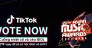 TikTok là kênh Bình chọn chính thức cho Giải thưởng Âm nhạc Châu Á MAMA 2018