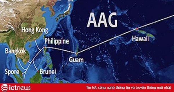 Cáp quang biển AAG lại gặp sự cố, hiện chưa có lịch sửa chữa