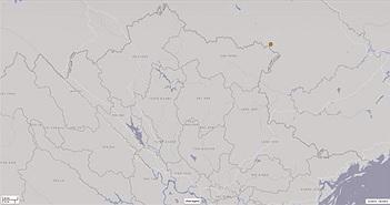 Cao Bằng động đất 4,7 độ richter