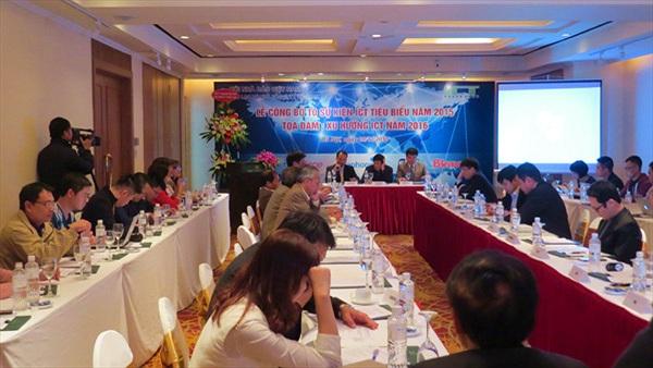 CLB nhà báo CNTT VN công bố 10 sự kiện ICT tiêu biểu năm 2015