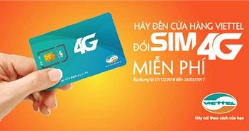 Sắp khai trương 4G, Viettel mở 1.600 điểm đổi SIM 4G miễn phí