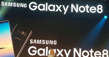 Hàng loạt siêu phẩm Galaxy Note 8 bị tố 'chết lăn quay' khi cạn pin