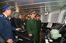 Tiến độ đóng tàu cho cảnh sát biển Việt Nam
