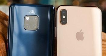 Apple, Samsung và Huawei dẫn đầu phân khúc cao cấp năm 2018