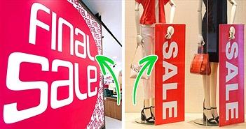 """Thì ra đây là cách các thương hiệu thời trang dễ dàng """"móc túi"""" chúng ta"""