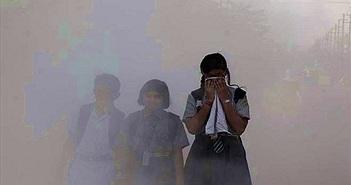 5,5 triệu người chết mỗi năm vì ô nhiễm không khí