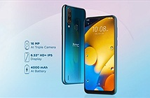 HTC Wildfire R70 ra mắt: Helio P23, 3 camera sau, giá 97 USD