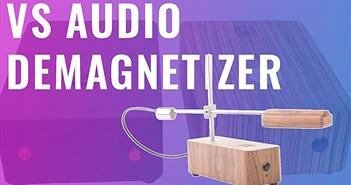 VS Audio tung bộ 3 khử từ cho đĩa CD, vinyl, thiết kế mộc, giá dễ chơi