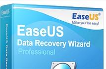 Phục hồi dữ liệu với Easeus Data Recovery Wizard