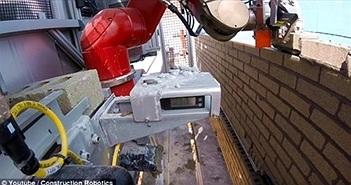 Rô-bốt lát gạch xây tường nhanh gấp 6 lần con người