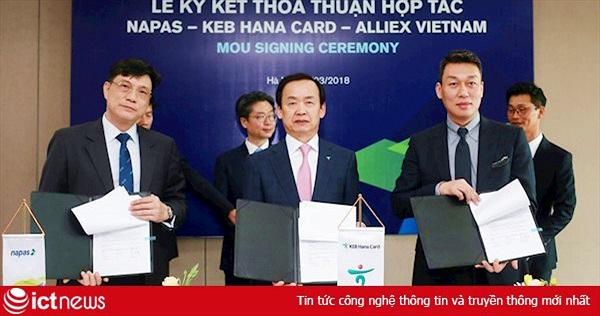 NAPAS bắt tay đối tác phát triển mạng lưới điểm chấp nhận thanh toán thẻ