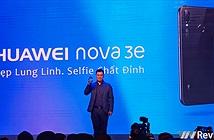 Huawei Nova 3e tai thỏ chính thức ra mắt tại Việt Nam, giá 6,99 triệu đồng