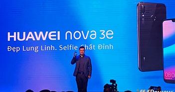 """Huawei Nova 3e """"tai thỏ"""" chính thức ra mắt tại Việt Nam, giá 6,99 triệu đồng"""