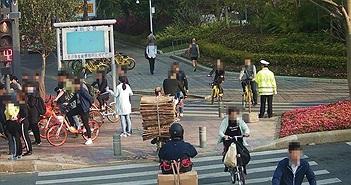 Trung Quốc sử dụng công nghệ nhận diện khuôn mặt để xử phạt người vi phạm giao thông qua SMS
