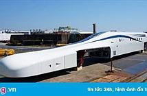 Nhật tiết lộ nguyên mẫu tàu siêu tốc sạc không dây