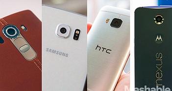 So sánh LG G4 với Samsung Galaxy S6, HTC One M9 và Motorola Nexus 6