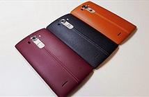 Những hình ảnh tuyệt đẹp về lớp vỏ da của LG G4