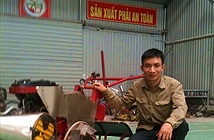 Nông dân trẻ chế tạo máy nông nghiệp đa năng