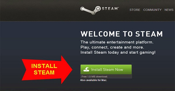 Đăng ký tài khoản Steam trên máy tính như thế nào?