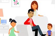 Những bảo bối giải cứu cha mẹ khỏi đau đầu khi ở nhà cùng con