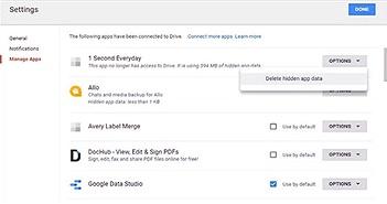 Cách giải phóng dung lượng Gmail, Google Drive bị đầy