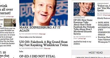 Hacker chơi khăm CEO Facebook ngay trước chuyến thăm trường cũ