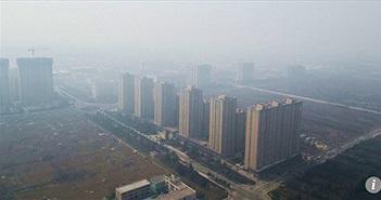 Bụi bao trùm thành phố Trung Quốc cứng hơn sắt thép