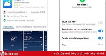 Huawei đăng ký hệ điều hành Ark OS, hé lộ ảnh chụp giao diện