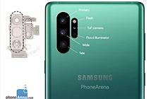 Galaxy Note 10 sẽ sở hữu thiết kế camera dọc thay vì ngang ?