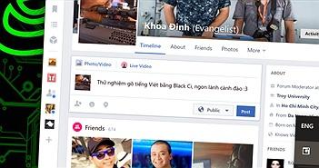 Bộ gõ Black Ci: đặc trị lỗi gõ tiếng Việt trong ứng dụng Facebook và Messenger trên Windows 10