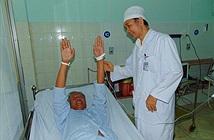 Bệnh nhân đầu tiên được điều trị bằng thuốc tiêu sợi huyết